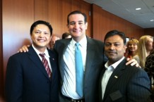 With Sen. Ted Cruz
